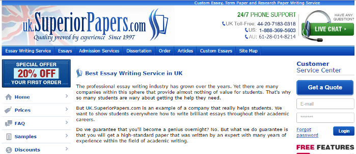 Quality custom essays reviews of windows