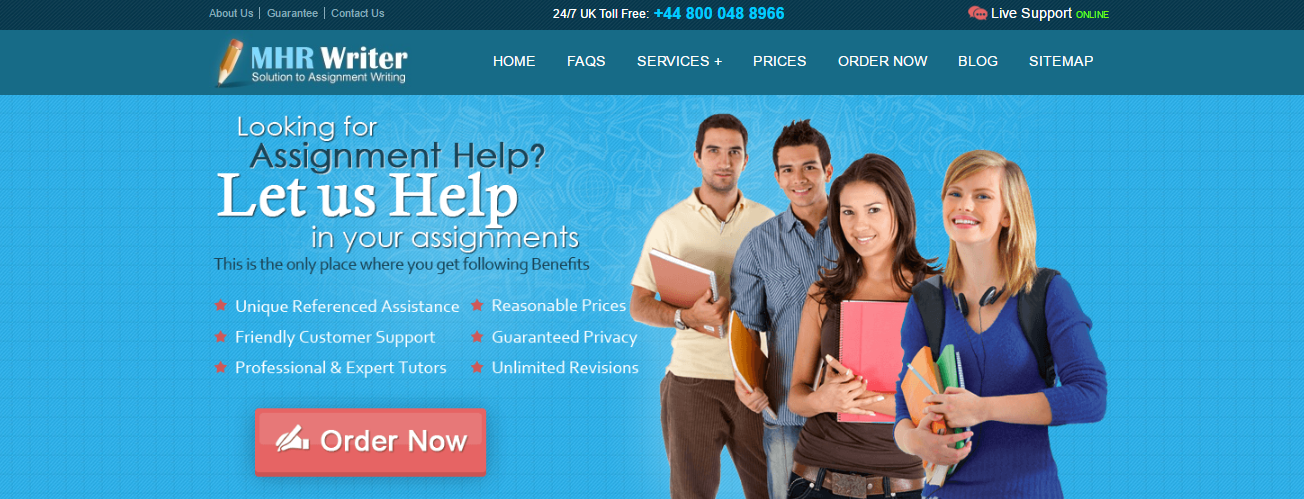 examples of writing university assignments