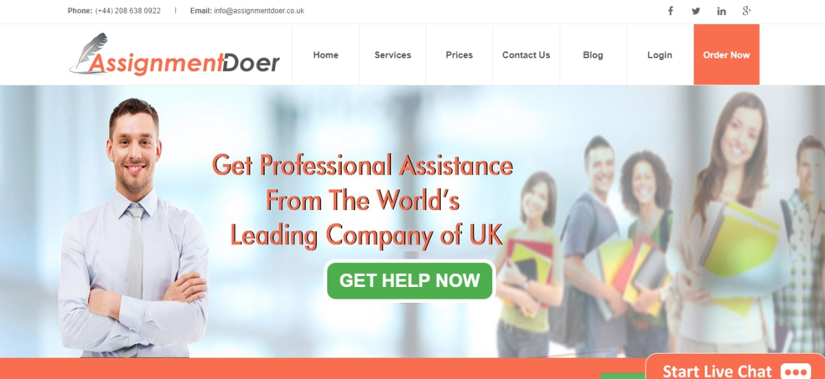 AssignmentDoer.co.uk Review