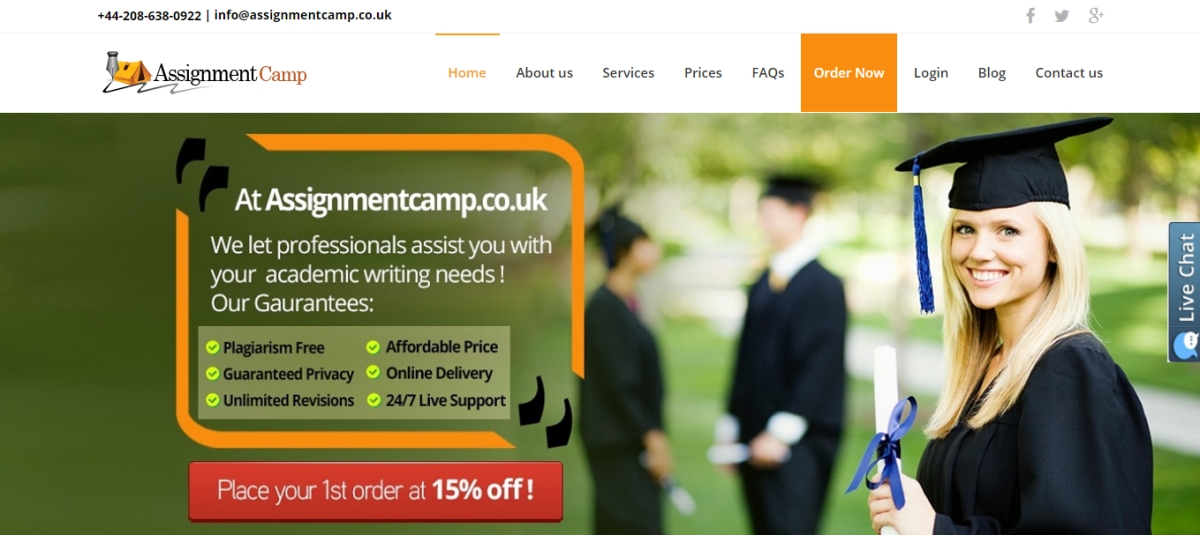 assignmentcamp.co.uk review