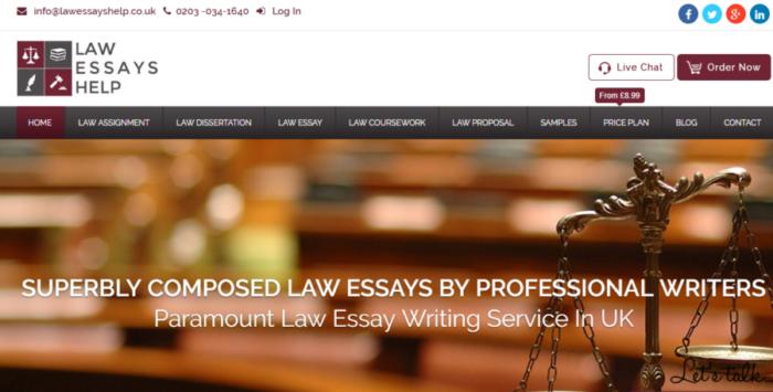 Law essay help uk