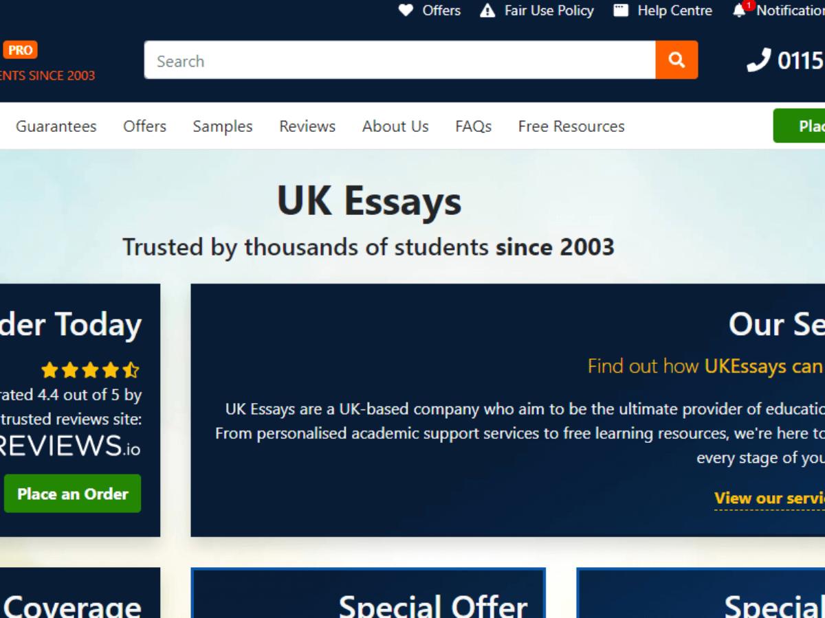 Best uk essay writing service reviews