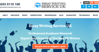 EssayWritingServiceUK review