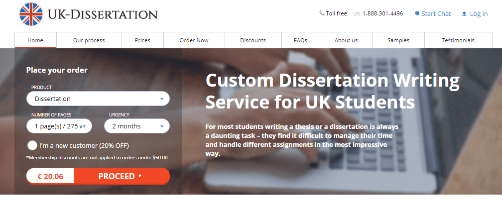 UK-Dissertation review